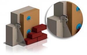 Cornières et consoles pour maçonnerie. Briques-béton