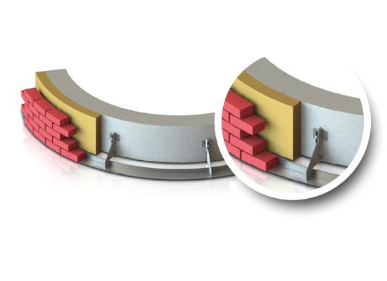 cornières cintrées pour typologie architecturale