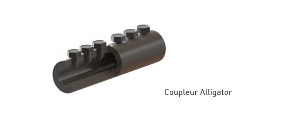 coupleur d'armature Alligator