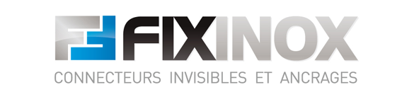 Logo Fixinox - Connecteurs invisibles et ancrages