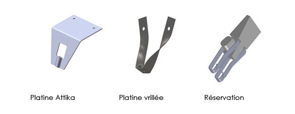 Variantes pour suspentes fixi 3D